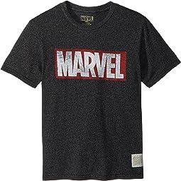 The Original Retro Brand Kids - Marvel Short Sleeve Mock Twist Tee (Big Kids)