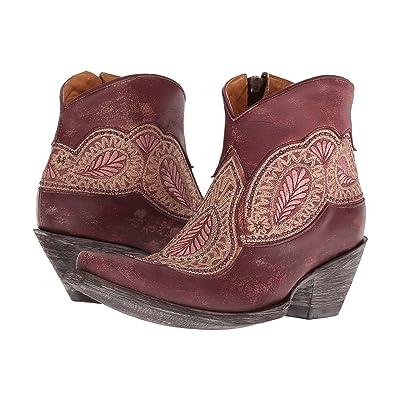 Old Gringo Bianca (Wine) Cowboy Boots