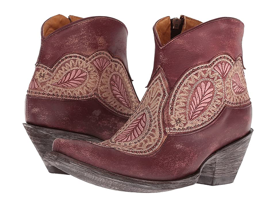 Old Gringo Bianca (Wine) Cowboy Boots