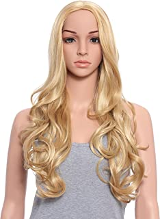 OneDor Full Head Beautiful Long Curly Wave Stunning Wig Charming Curly Costume Wig (24H613)
