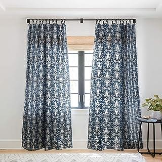 """Deny Designs 66815-shwc05 Heather Dutton Mythos Sheer Curtains, 50"""" x 120"""", Blue"""
