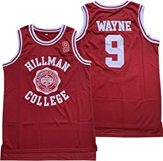 Supereasydeal Dwayne Wayne #9 A Different World Hillman College Theater Basketball Jersey