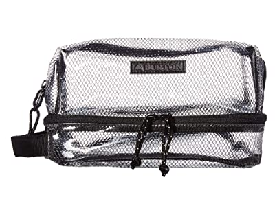 Burton Low Maintenance Kit (Clear) Travel Pouch