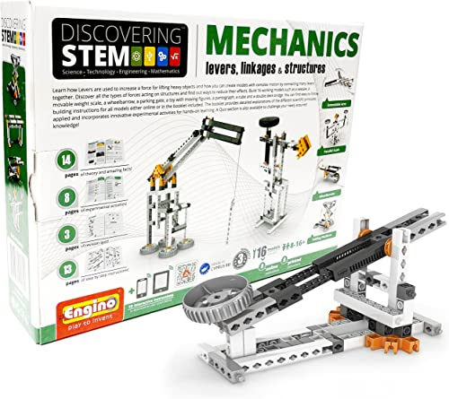 Engino Discovebague Stem  Levers, Linkages & Structures Building Kit