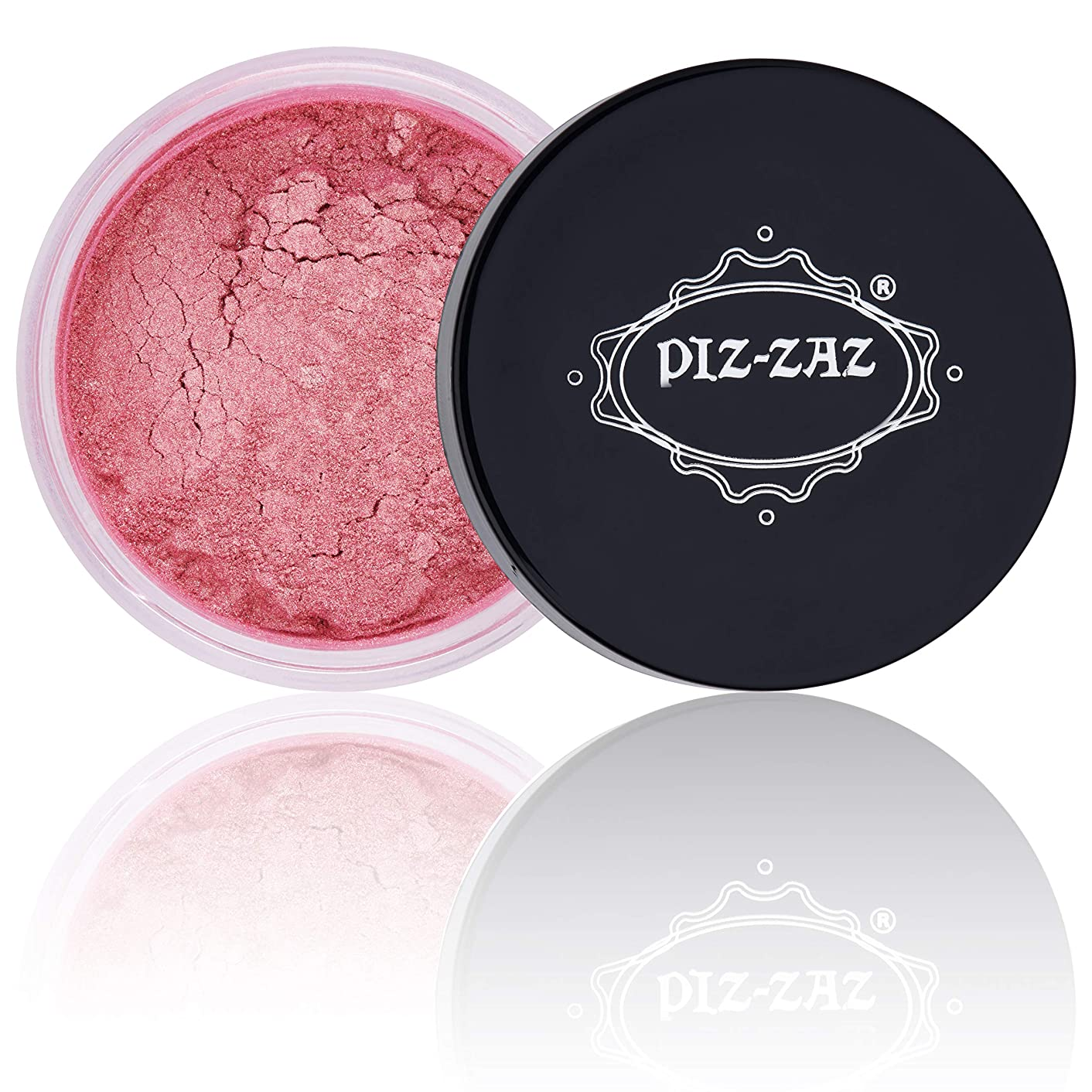 Mica Powder Pigment, Soap Making Supplies Kit - Powdered Pigment Dye for Creating Hand Soap, Slime, Bath Bombs, Soap Colorant, Candle Color Dye & More by PizZaz (Grapefruit)