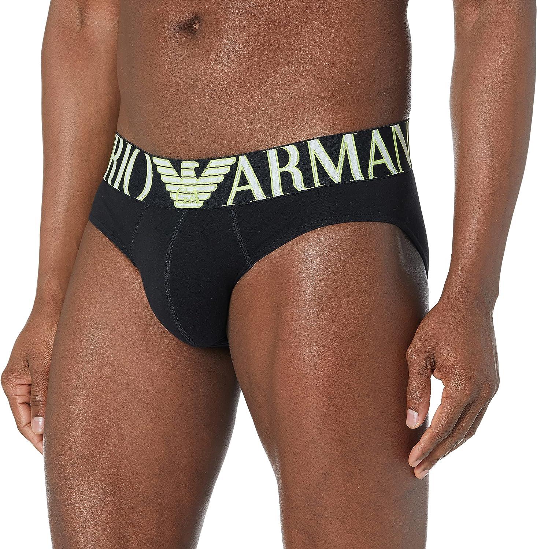 Emporio Armani Underwear Brief Megalogo Calzoncillos para Hombre