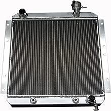 ZC180 3 Rows All Aluminum Radiator Fit 1970-80 Toyota Land Cruiser 3.9L/4.2L L6 GAS