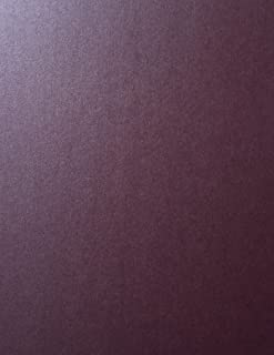 Ruby Stardream Metallic Cardstock Paper - 8.5 X 11 inch - 105 lb. / 284 GSM Cover - 25 Sheets from Cardstock Warehouse