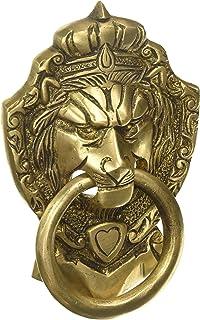 Aakrati Door Knocker of Lion Face Brown