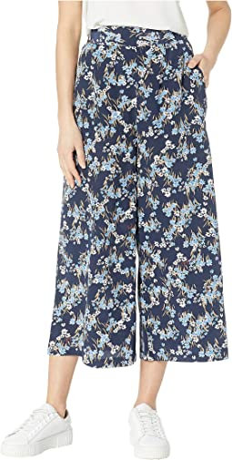 Bouquet Floral Wide Leg Pants