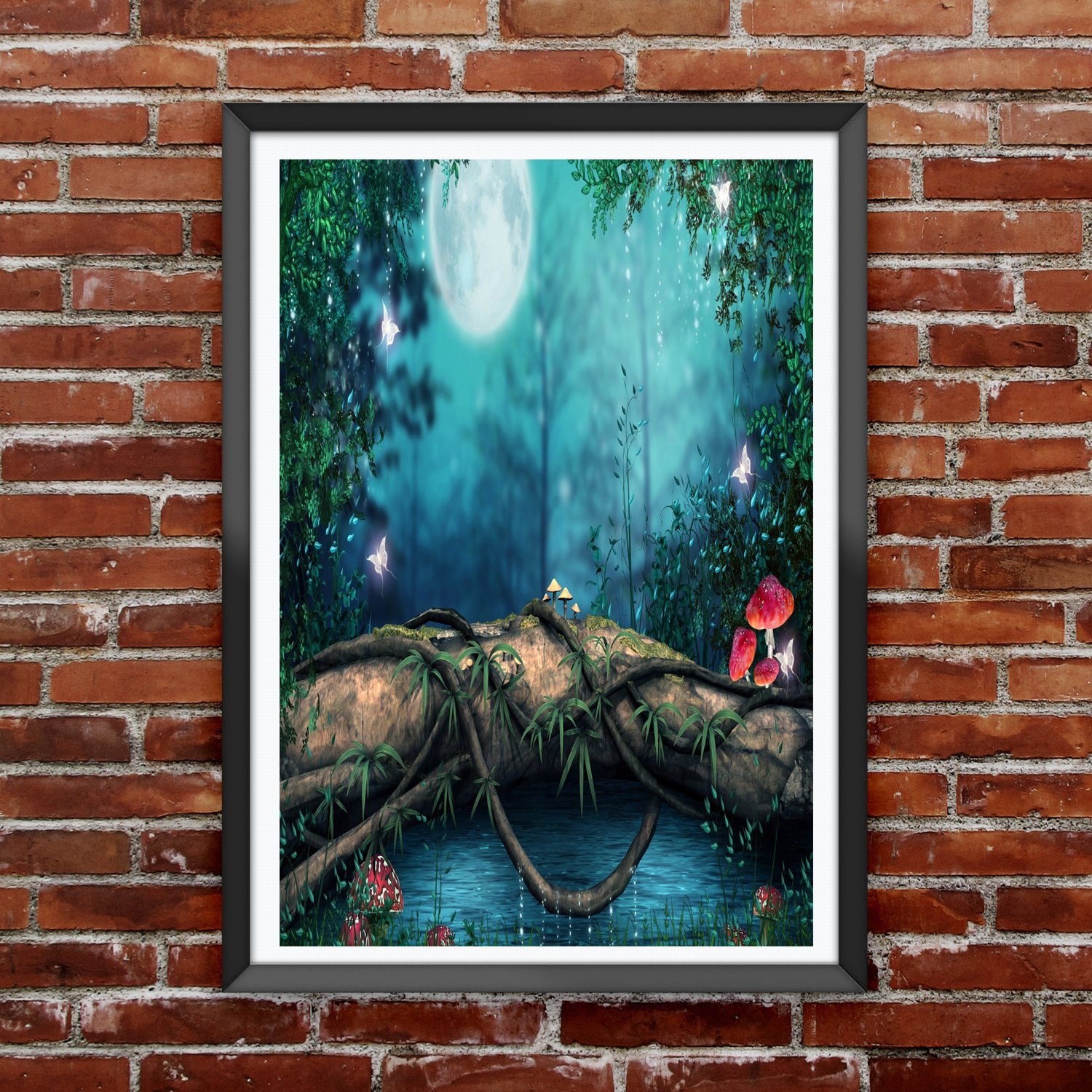 TOTAL HOME 20D Nature Art Large Wallpaper Painting without Frame ...