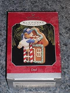 Hallmark Dad Painting Gingerbread House Keepsake Christmas Holiday Ornament 1998 Painter