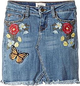 Hudson Kids - Revival Mini Patch Skirt (Big Kids)