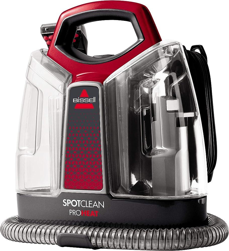Bissell,spotclean proheat - pulitore portatile per tappezzeria, moquette, sedili auto e altro 36988