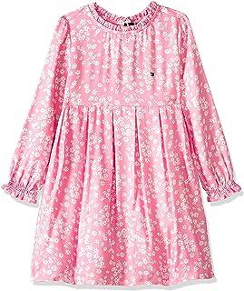 Tommy Hilfiger Girl's Long Scattered Floral Dresses