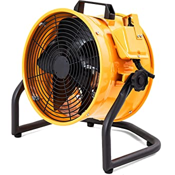 Amazon Com Mounto 1 2hp 3000cfm 12 Portable Axial Blower Exhaust Fan Confined Space Blower Kitchen Dining