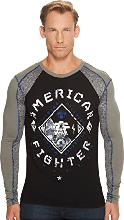 American Fighter - Richmond Long Sleeve Panel T-Shirt