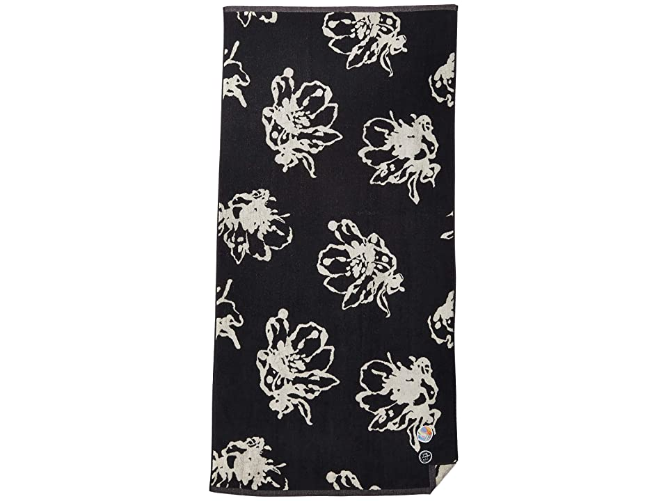 RVCA Sage Vaughn Towel (Black) Bath Towels
