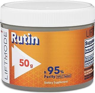 LiftMode Rutin Powder Supplement - Supports Overall Health & Healthy Circulatory & Immune System, Vitamin P | Vegetarian, ...