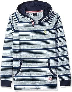 Boys' Long Sleeve Hooded T-Shirt