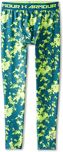 Under Armour Kids Heatgear® Armour® Fitted Printed Legging (Big Kids)