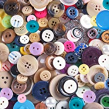 Scrambled Assortment Bag of Buttons for Arts & Crafts, Decoration, Collections, Sewing, and More! Different Colors and Siz...