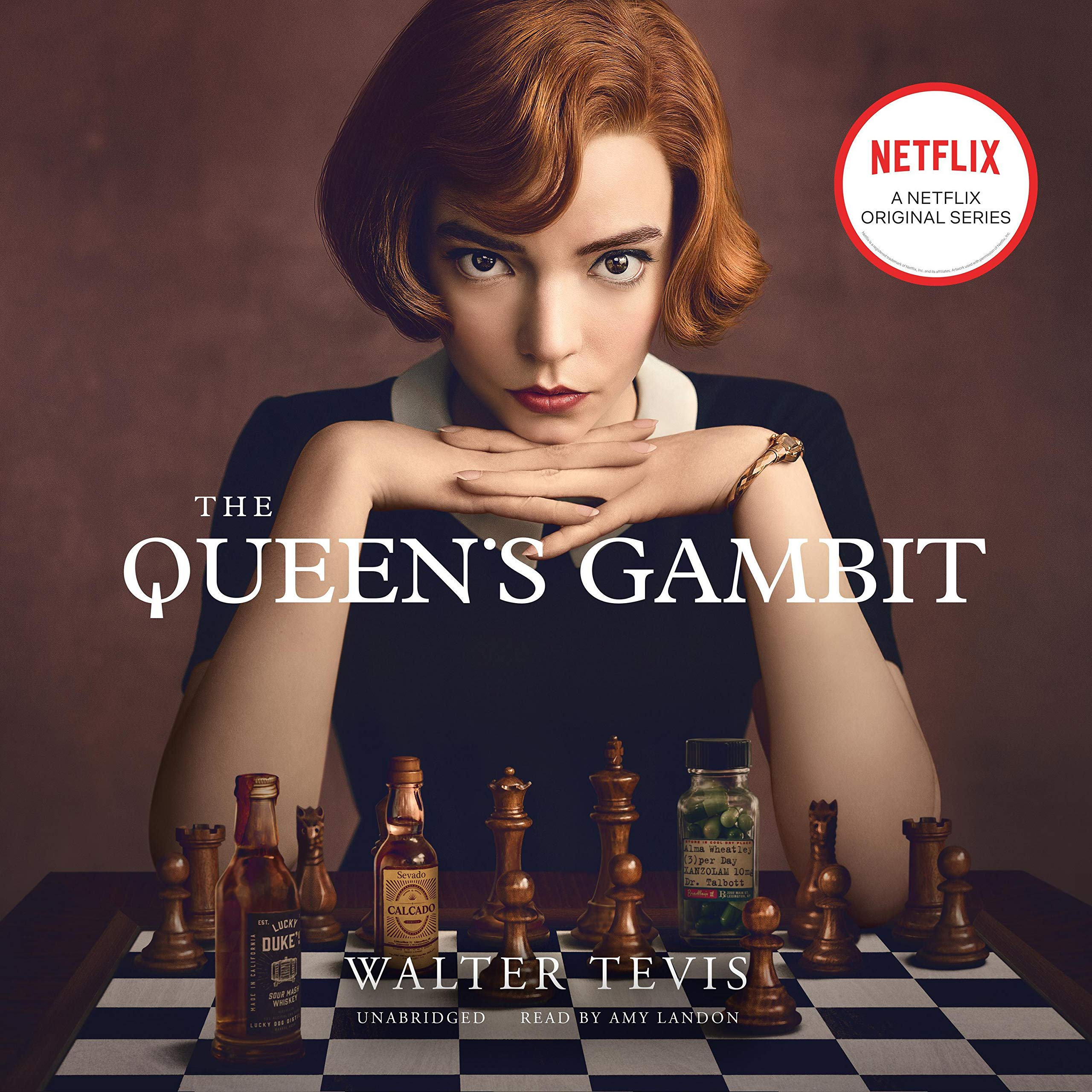 Cover image of The Queen's Gambit by Walter Tevis