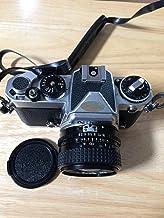 Nikon FE SLR Chrome 35MM Film Camera Kit with Lens.