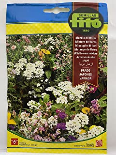 FITO® MIXED JAPANESE MEADOW FLOWER SEEDS (Net weight 10 grams) – بذور ازھار بریة