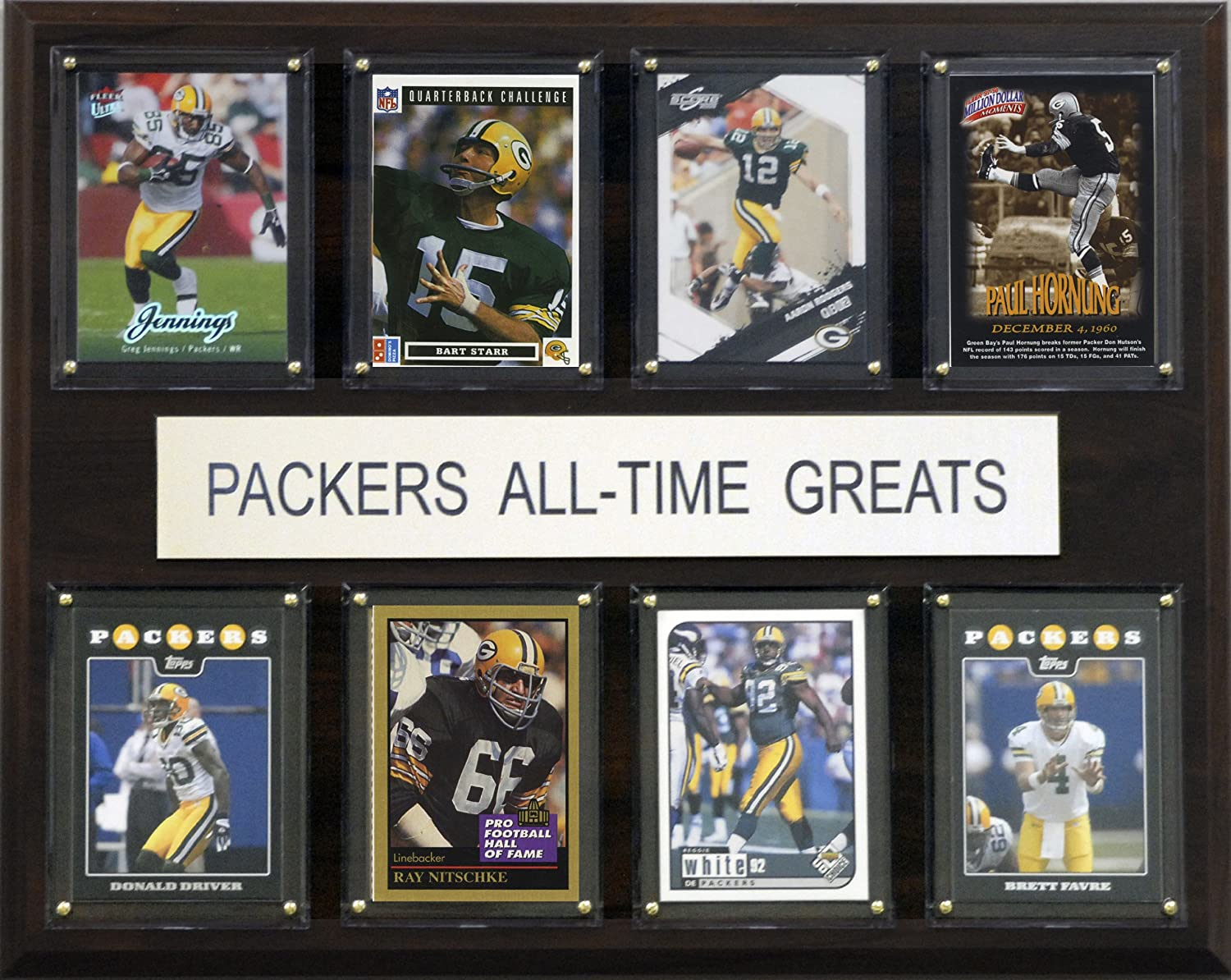 NFL Green Bay Packers AllTime Greats Plaque