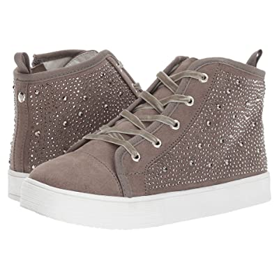 Stuart Weitzman Kids Vance Hi Bling (Little Kid/Big Kid) (Pewter) Girl