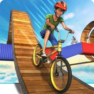 Impossible BMX Crazy Rider Cycle Stunt Games: Dirt Bike Racing Fever Pro Rush 3D Adventure Simulator 2018