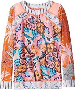 Maaji Kids - Peaches and Beaches Rashguard (Toddler/Little Kids/Big Kids)