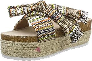 7d1b15b12297e1 Amazon.fr : Toile - Mules et sabots / Chaussures femme : Chaussures ...