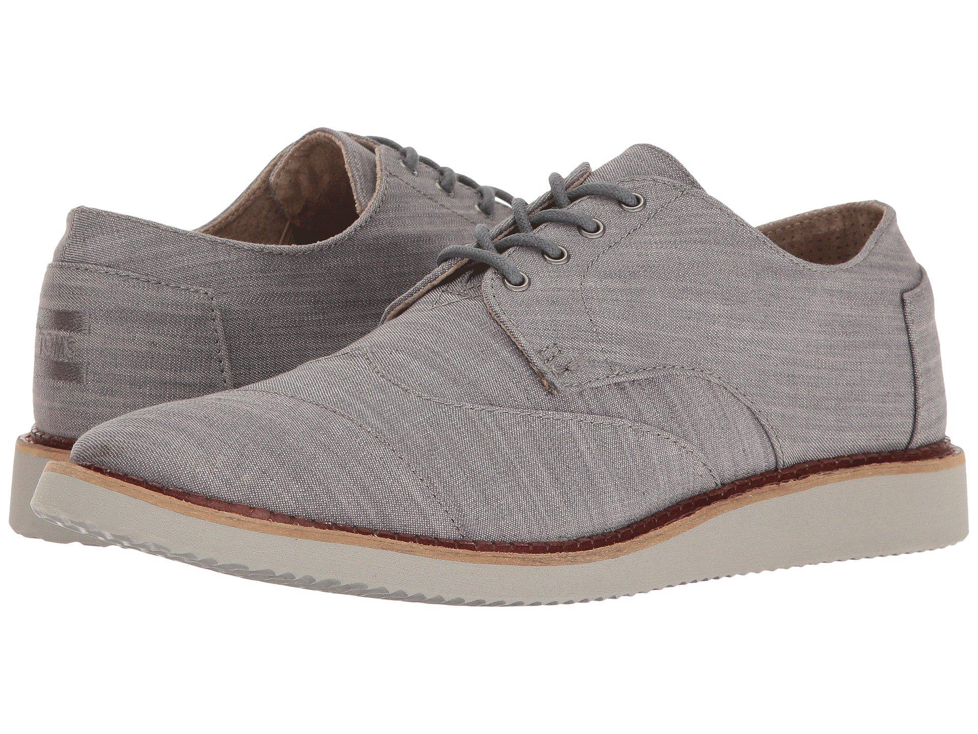 Calzado tipo Oxford para Hombre TOMS Brogue Lace-Up  + TOMS en VeoyCompro.net
