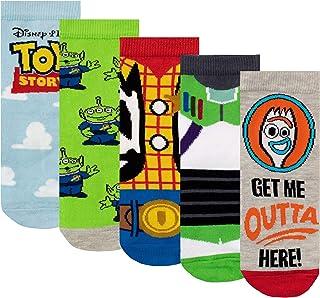 Disney, Calcetines Paquete de 5 para Niños Toy Story