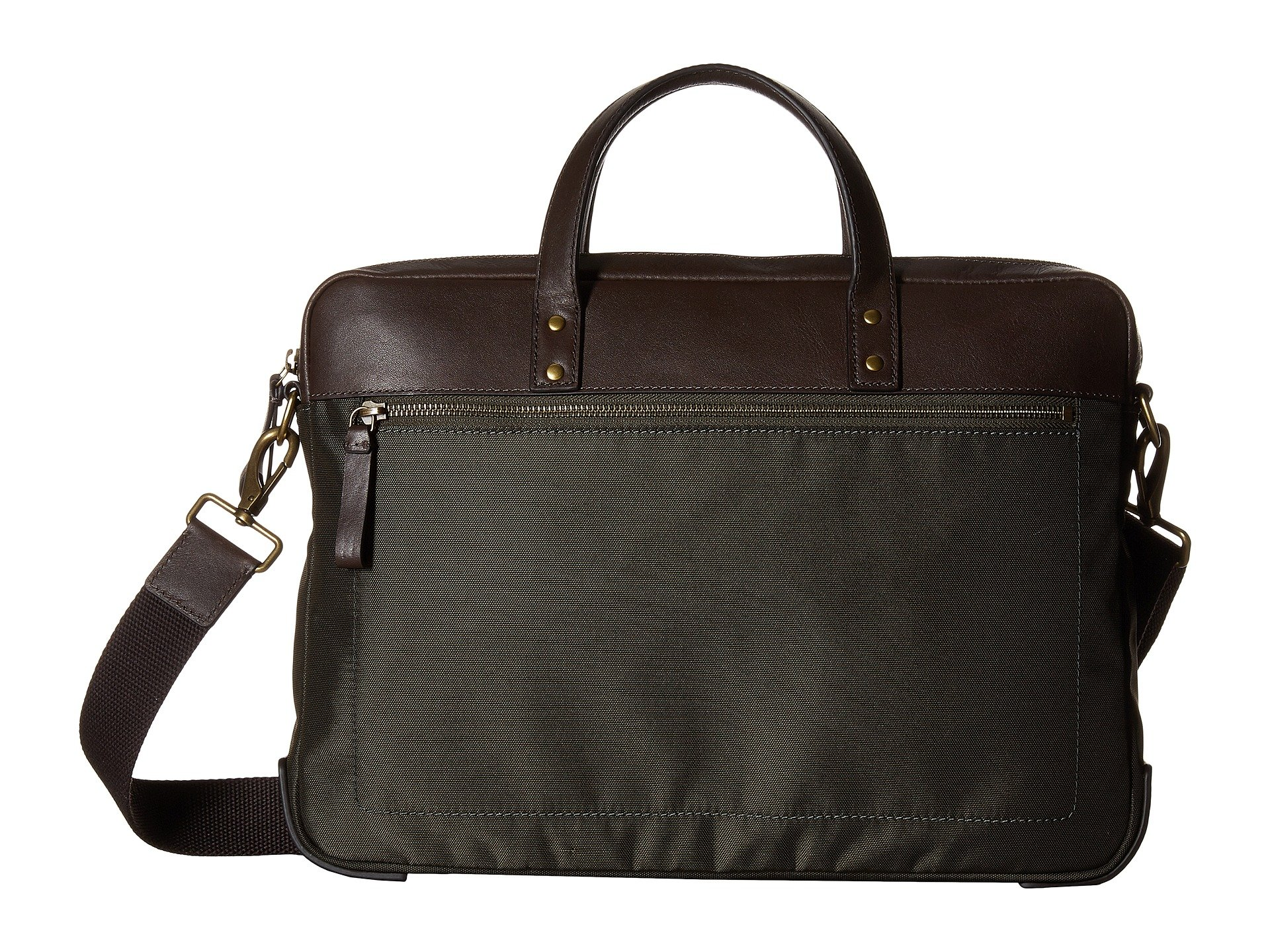 Maletin para Hombre Fossil Haskell Brief  + Fossil en VeoyCompro.net