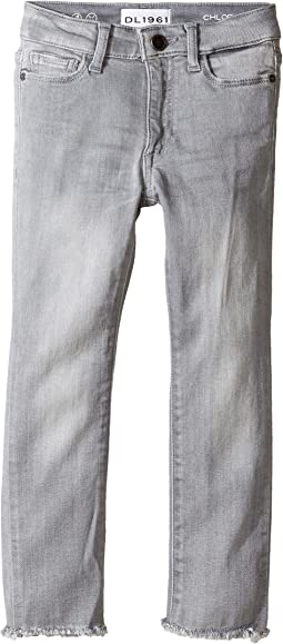 DL1961 Kids Chloe Skinny Jeans in Howl (Toddler/Little Kids)