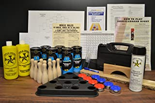 Zieglerworld Table Shuffleboard Pucks - Weights Wax Everything Kit Package Deal!