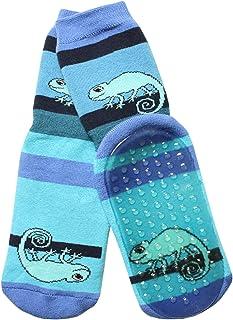 Weri Spezials - Pantofole unisex per bambini e neonati, in materiale ABS, con cameleon