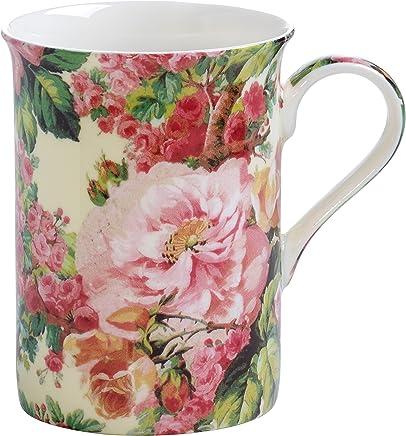 Preisvergleich für Maxwell & Williams Royal Old England Becher, Porzellan, pink 11.4 x 35.6 x 55.2 cm