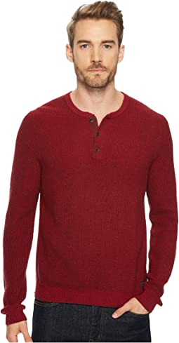 Lucky Brand - Stitch Henley Sweater