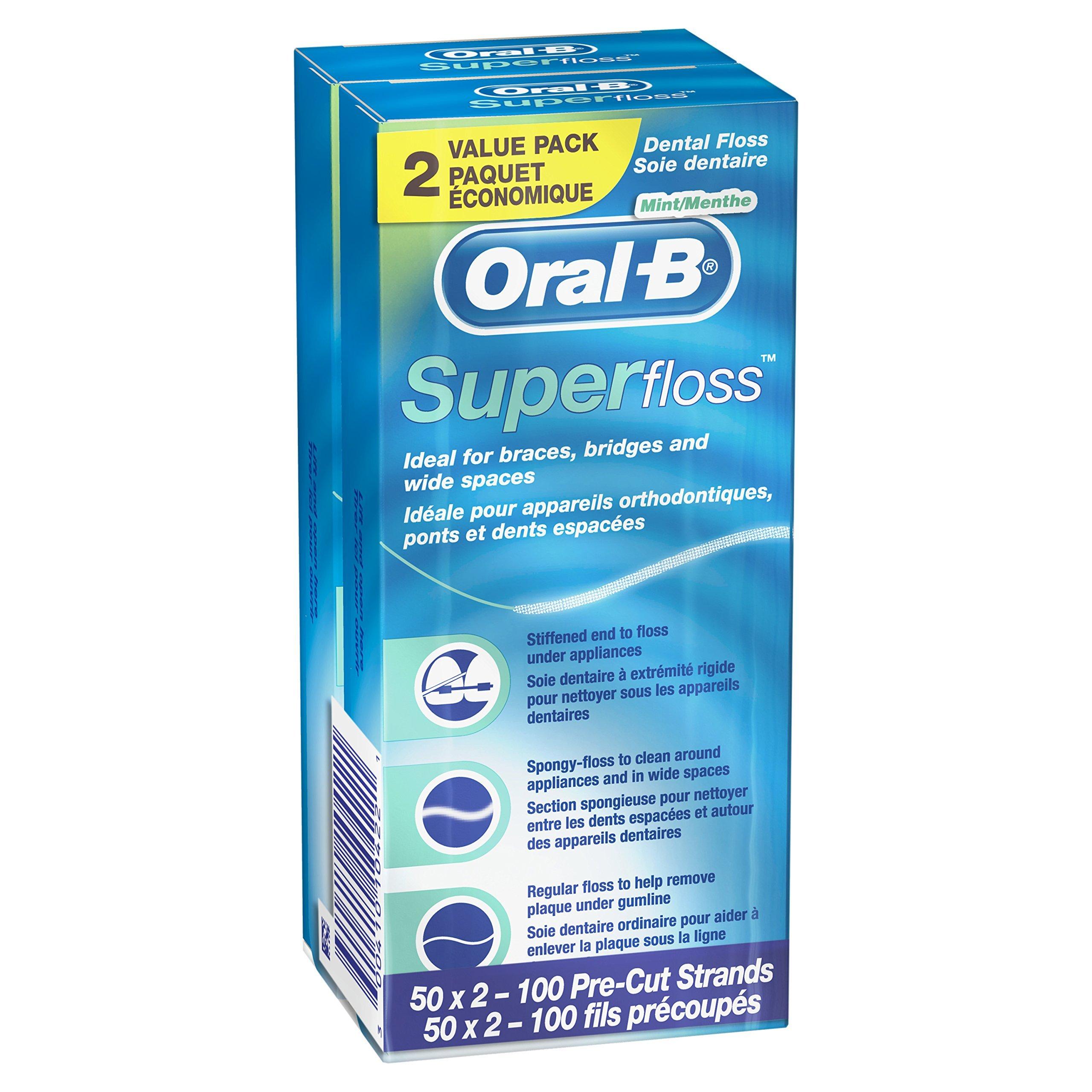 Oral B Super Floss Pre Cut Strands