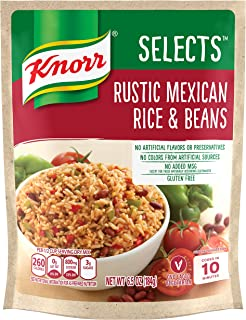 Knorr Selects Rice Side Dish, Rustic Mexican Rice & Beans, 6.5 oz (Pack of 8)