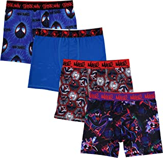 Marvel Boys' Big Avengers Athletic Boxer Brief , Assorted