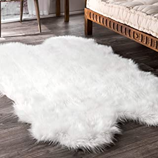 nuLOOM Quarto Tianna Faux Sheepskin Shag Rug, 3' 6