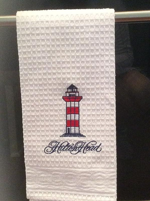 Hilton Head Waffle Kitchen Towel