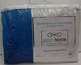 POSH HOME Waterproof Mattress Protector (King)