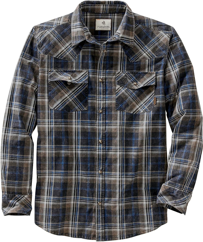 Legendary Whitetails Men's Outlaw Western Shirt