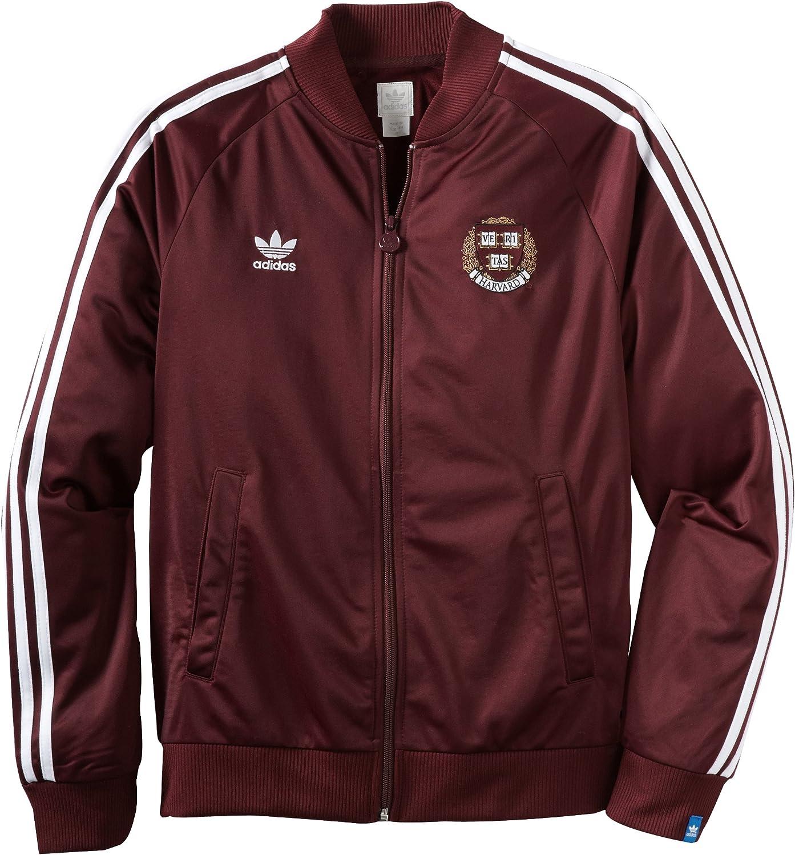 NCAA Harvard Crimson Men's Threaded Shipping included Vault Track unisex Jacket Legacy